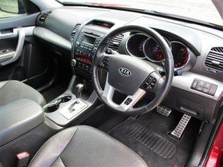 2010 Kia Sorento XM MY10 Platinum Red 6 Speed Sports Automatic Wagon.