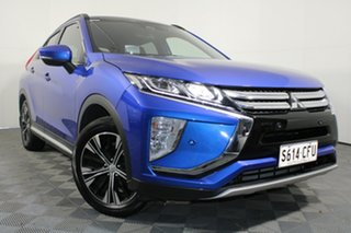 2020 Mitsubishi Eclipse Cross YA MY20 Exceed 2WD Blue 8 Speed Constant Variable Wagon.