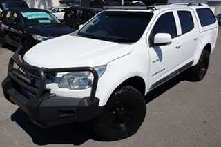 2013 Holden Colorado RG MY13 LX Crew Cab White 6 Speed Sports Automatic Utility.