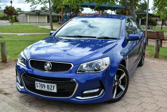 Used Holden Commodore VF II MY17 SV6 Ingle Farm, 2017 Holden Commodore VF II MY17 SV6 Blue 6 Speed Sports Automatic Sedan