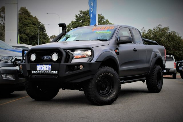 Used Ford Ranger PX MkII XL Midland, 2016 Ford Ranger PX MkII XL Grey 6 Speed Manual Utility