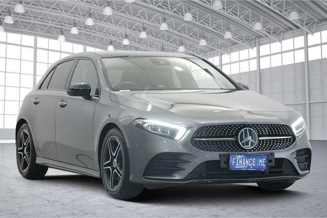 Used Mercedes-Benz A-Class W177 A250 DCT Victoria Park, 2018 Mercedes-Benz A-Class W177 A250 DCT Grey 7 Speed Sports Automatic Dual Clutch Hatchback