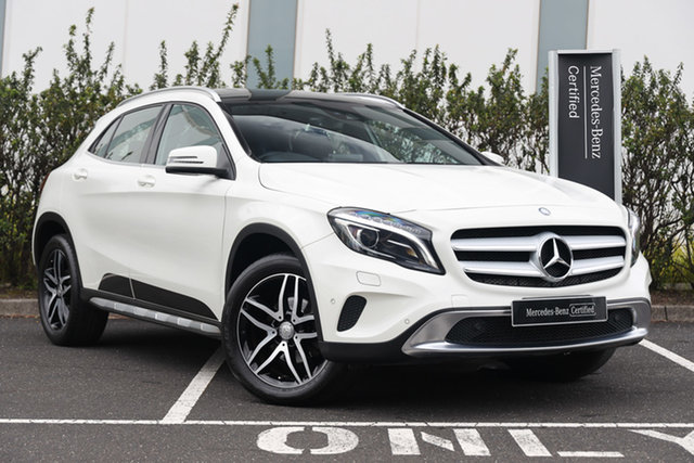 Certified Pre-Owned Mercedes-Benz GLA-Class X156 807MY GLA180 DCT Mulgrave, 2016 Mercedes-Benz GLA-Class X156 807MY GLA180 DCT White 7 Speed Sports Automatic Dual Clutch Wagon