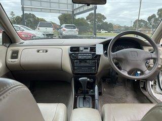 2000 Honda Accord V6-L White 4 Speed Automatic Sedan