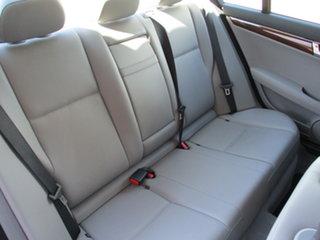 2007 Mercedes-Benz C-Class W203 MY2007 C200 Kompressor Elegance Silver 6 Speed Manual Sedan