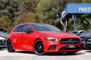 2019 Mercedes-Benz A-Class W177 A250 DCT 4MATIC AMG Line Red 7 Speed Sports Automatic Dual Clutch.