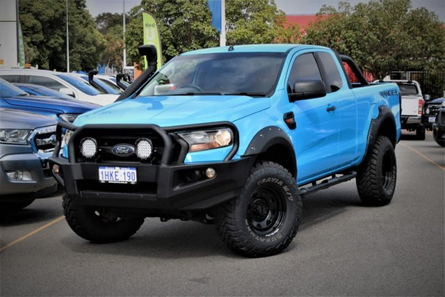 Used Ford Ranger PX MkII XL Midland, 2015 Ford Ranger PX MkII XL Blue 6 Speed Manual Cab Chassis