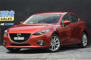 2014 Mazda 3 BM5236 SP25 SKYACTIV-MT Burgundy 6 Speed Manual Sedan.