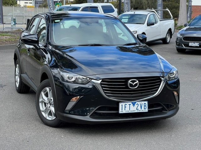 Used Mazda CX-3 DK2W7A Maxx SKYACTIV-Drive South Melbourne, 2015 Mazda CX-3 DK2W7A Maxx SKYACTIV-Drive Jet Black 6 Speed Sports Automatic Wagon