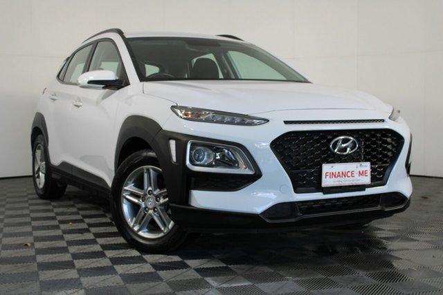 Used Hyundai Kona OS.2 MY19 Active 2WD Wayville, 2019 Hyundai Kona OS.2 MY19 Active 2WD White 6 Speed Sports Automatic Wagon