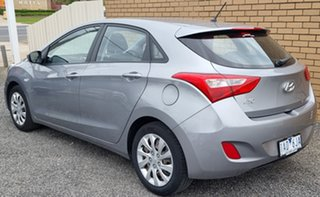 2013 Hyundai i30 GD2 Active Grey 6 Speed Sports Automatic Hatchback.