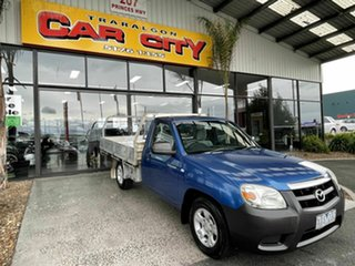 2009 Mazda BT-50 08 Upgrade B2500 DX Blue 5 Speed Manual Cab Chassis.