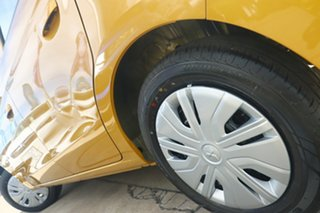 2021 Mitsubishi Mirage LB MY22 ES Sand Yellow 1 Speed Constant Variable Hatchback