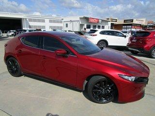 2019 Mazda 3 BP2HLA G25 SKYACTIV-Drive Astina Red 6 Speed Sports Automatic Hatchback.