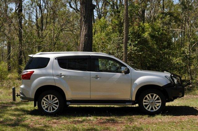 Used Isuzu MU-X UC MY18 LS-M (4x4) Kingaroy, 2018 Isuzu MU-X UC MY18 LS-M (4x4) Silver 6 Speed Auto Sequential Wagon
