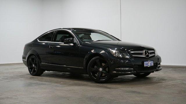 Used Mercedes-Benz C-Class C204 MY13 C250 CDI BlueEFFICIENCY 7G-Tronic Welshpool, 2012 Mercedes-Benz C-Class C204 MY13 C250 CDI BlueEFFICIENCY 7G-Tronic Black 7 Speed