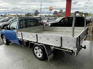 2009 Mazda BT-50 08 Upgrade B2500 DX Blue 5 Speed Manual Cab Chassis