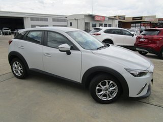 2016 Mazda CX-3 DK2W7A Maxx SKYACTIV-Drive Ceramic White 6 Speed Sports Automatic Wagon.