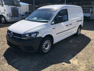 2017 Volkswagen Caddy MAXI White 7 Speed Sports Automatic Dual Clutch Panel Van.