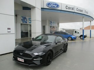 2018 Ford Mustang FM MY17 2.3 GTDi (5 Yr) Black 6 Speed Automatic Convertible.