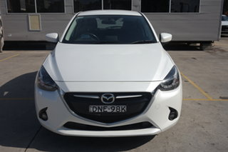 2017 Mazda 2 DJ2HAA Neo SKYACTIV-Drive White 6 Speed Sports Automatic Hatchback.