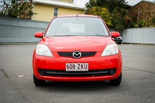 2006 Mazda 2 DY10Y2 Neo Red 4 Speed Automatic Hatchback.