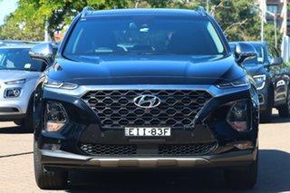 2019 Hyundai Santa Fe TM.2 MY20 Highlander MPI Blk-BGE (2WD) Black 8 Speed Automatic Wagon