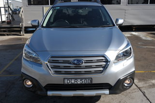 2016 Subaru Outback B6A MY17 2.5i CVT AWD Premium Silver 6 Speed Constant Variable Wagon.