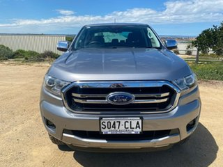 2019 Ford Ranger PX MkIII 2019.00MY XLT Silver 10 Speed Sports Automatic Double Cab Pick Up