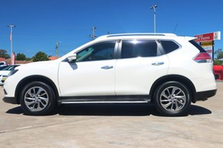 2015 Nissan X-Trail T32 TI (4x4) White Continuous Variable Wagon