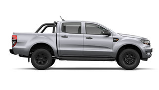 2021 Ford Ranger PX MkIII 2021.75MY Sport Aluminium Silver 6 Speed Sports Automatic.