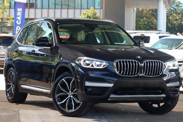 Used BMW X3 G01 MY18.5 xDrive30I Zetland, 2019 BMW X3 G01 MY18.5 xDrive30I Grey 8 Speed Automatic Wagon