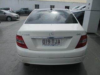 2011 Mercedes-Benz C250 W204 MY10 Upgrade CGI Avantgarde White 5 Speed Automatic Tipshift Wagon.