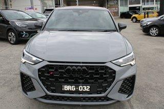 2021 Audi RS Q3 F3 MY21 Sportback S Tronic Quattro Nardo Grey 7 Speed Sports Automatic Dual Clutch.