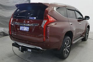 2018 Mitsubishi Pajero Sport QE MY18 Exceed Red 8 Speed Sports Automatic Wagon