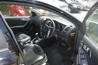 2009 Kia Cerato TD MY09 SLi Black 4 Speed Sports Automatic Sedan