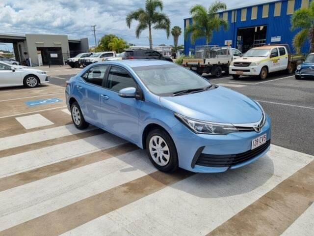 Pre-Owned Toyota Corolla ZRE172R MY17 Ascent Gladstone, 2018 Toyota Corolla ZRE172R MY17 Ascent Blue Mist 7 Speed CVT Auto Sequential Sedan