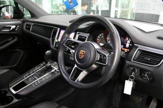 2017 Porsche Macan 95B MY18 PDK AWD Black 7 Speed Sports Automatic Dual Clutch Wagon.