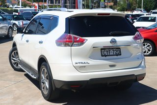 2015 Nissan X-Trail T32 TI (4x4) White Continuous Variable Wagon.