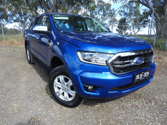 Used Ford Ranger PX MkIII 2020.75MY XLT Epsom, 2020 Ford Ranger PX MkIII 2020.75MY XLT Blue 10 Speed Sports Automatic Double Cab Pick Up