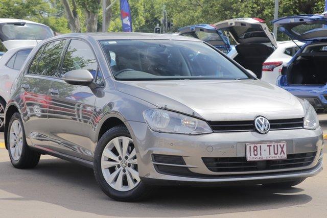 Used Volkswagen Golf VII MY14 90TSI DSG Comfortline Toowoomba, 2014 Volkswagen Golf VII MY14 90TSI DSG Comfortline Grey 7 Speed Sports Automatic Dual Clutch