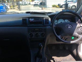 2005 Toyota Corolla ZZE122R 5Y Ascent Sport White 5 Speed Manual Sedan