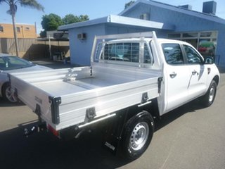 2021 Ford Ranger PX MkIII 2021.75MY XL White 6 Speed Sports Automatic Double Cab Chassis.