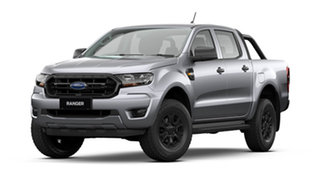 2021 Ford Ranger PX MkIII 2021.75MY Sport Aluminium Silver 6 Speed Sports Automatic