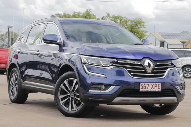 Used Renault Koleos HZG Intens X-tronic Bundamba, 2017 Renault Koleos HZG Intens X-tronic Blue 1 Speed Constant Variable Wagon