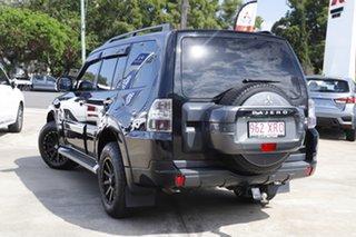 2012 Mitsubishi Pajero NW MY12 Platinum Pitch Black/cloth 5 Speed Sports Automatic Wagon.
