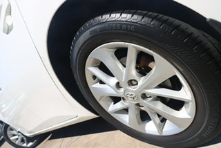 2013 Toyota Corolla ZRE182R Ascent Sport S-CVT Glacier White 7 Speed Constant Variable Hatchback