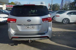 2015 Kia Carnival YP MY15 Platinum Silver, Chrome 6 Speed Sports Automatic Wagon.