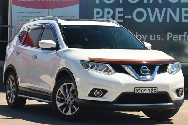 Pre-Owned Nissan X-Trail T32 TI (4x4) Guildford, 2015 Nissan X-Trail T32 TI (4x4) White Continuous Variable Wagon