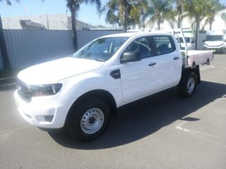 2021 Ford Ranger PX MkIII 2021.75MY XL White 6 Speed Sports Automatic Double Cab Chassis